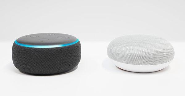 Sterowanie głosowe Alexa, Asystent Google